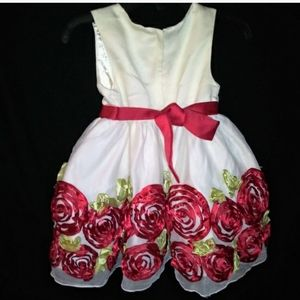 👗Easter -Flower Girl Dress Gown Skirt & Bloomers